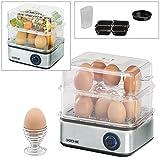 Voche® Electric 16 Egg Boiler, Poacher, Omelette Maker and Vegetable Steamer Multi Function