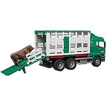 Bruder  - Camión transporte de ganado