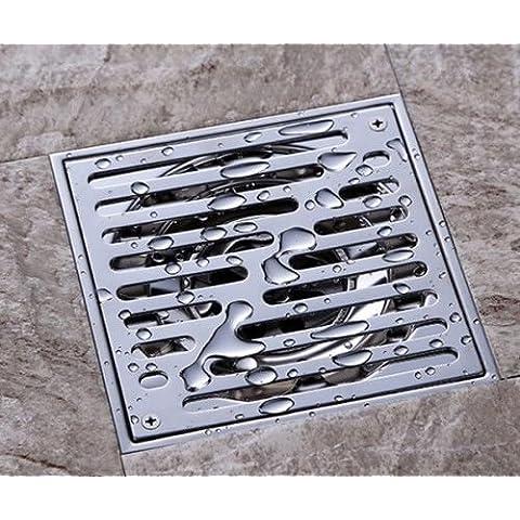 Mjj 304 Acciaio inossidabile 15 X 15cm quadrato Doccia a