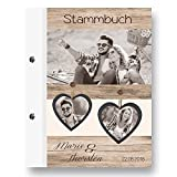 Stammbuch der Familie 'INDIVIDUELLE Vintage Flair' 3 Bilder Familienbuch Familienstammbuch Stammbaum Stammbücher - A5