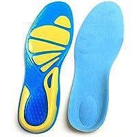 BLUEUK 1Paar Erwachsene 2Fuß Fußgewölbe Orthotics Orthopädische Einlegesohlen Fuß Care für Männer und Frauen... preisvergleich bei billige-tabletten.eu