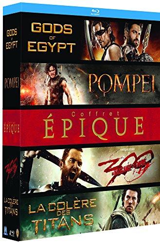 Coffret épique : Pompéi + Gods of Egypt + La Colère des...