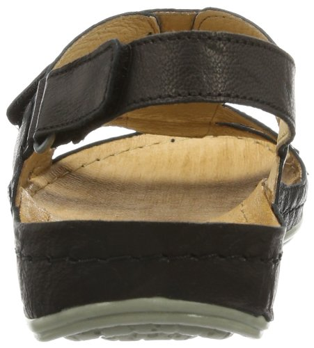 Dr. Brinkmann - 710633, Scarpe col tacco con cinturino a T Donna Nero (Schwarz (schwarz 1))