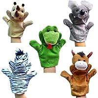 Happy Cherry - (Set de 5) Marionetas Juguetes Juegos de Manos Juguetes de Peluche