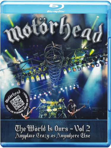 Motörhead - The wörld is ours - Anyplace crazy as anywhere else(+booklet)Volume02