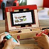 Poconic Karton Spielzeug Multi-Set für Nintendo Schalter, Nintendo NS Labo Kit Anpassung Karton Blätter Arcade-Halterung Papier DIY Schalter Halter Spiel Joy-Con Garage (Halter)