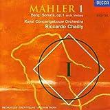Mahler 1 / Berg: Sonata op. 1 (orch. Verbey)