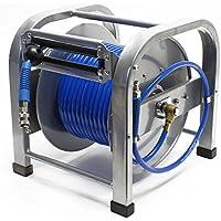 Enrollador automático de manguera de aire comprimido de 30 metros 12bar 12 ...