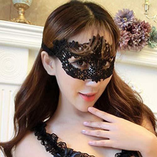 Losuya Lace Mask Masquerade Venezianische Eyemask Sexy Lady Girls Augenmasken für Halloween Karneval Party Kostüm Ball Gefälligkeiten, Modell ()
