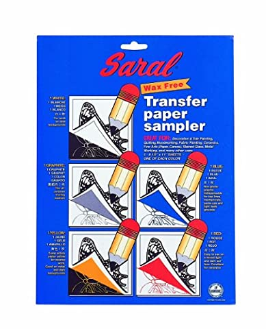 Saral Transfer (Tracing) Paper tole painting and decorative crafts pack of 5 sheets 8 1/2 in. x 11 in. pack of 5 (japan import)