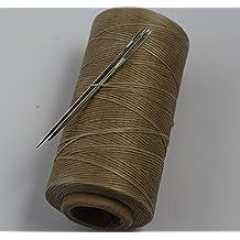 chengyida Taupe S006 fuerte hilo de para coser a mano encerado para piel/ lona y