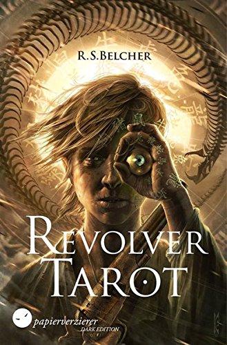 Buchseite und Rezensionen zu 'Revolver Tarot' von R. S. Belcher