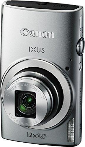 Canon IXUS 170 Digitalkamera (20 Megapixel, 12-fach optisch, Zoom, 24-fach ZoomPlus, opt. Bildstabilisator, 6,8 cm (2,7 Zoll) LCD-Display, HD-Movie 720p) Silber - 3