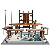BHXUD Teppich Chinesische Sofa-Couchtisch Matte Schlafzimmer Bedside Rechteckigen Teppich Modernen Einfachen Wohnzimmerteppich,2