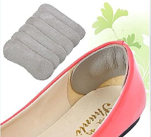EQLEF® 4 Paar Schuhpflege Stoppen Gepolsterte Leder Absatz Grips Filler