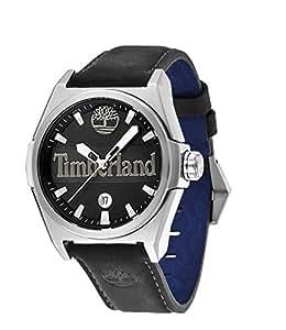 Timberland - TBL13329JS-02 - Montre Homme - Quartz Analogique - Bracelet Cuir Noir