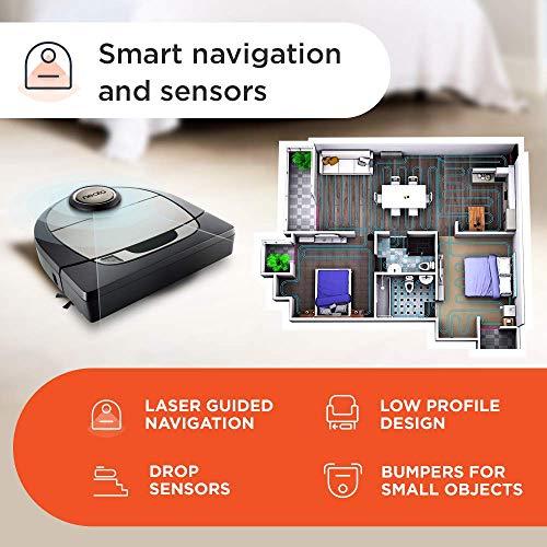 Neato Robotics Botvac D7 Connected – Premium Saugroboter mit Ladestation - 5