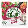 Elephant - Infusion Fruits Rouges 36G - Lot De 4 - Vendu Par Lot - Livraison Gratuite En France