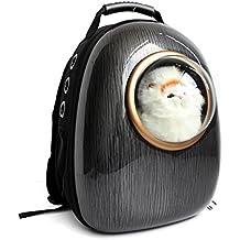 Astronauta Capsula Pet Zaino Airline Approved trasparente borsa portatile traspirante cane elemento portante del gatto (Bunny Velo)