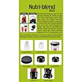 Wonderchef Nutri-Blend 63152295 400-Watt Mixer Grinder with 3 Jars In Purple Color And Free Recipe Book By Chef Sanjeev Kapoor