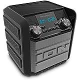 ION Audio Tailgater GO   Enceinte Bluetooth 20W Rechargeable avec Autonomie 30 Heures, Ultra Compact et Résistant à l'Eau - Compatible avec Android, iPhone, MAC, PC et plus encore
