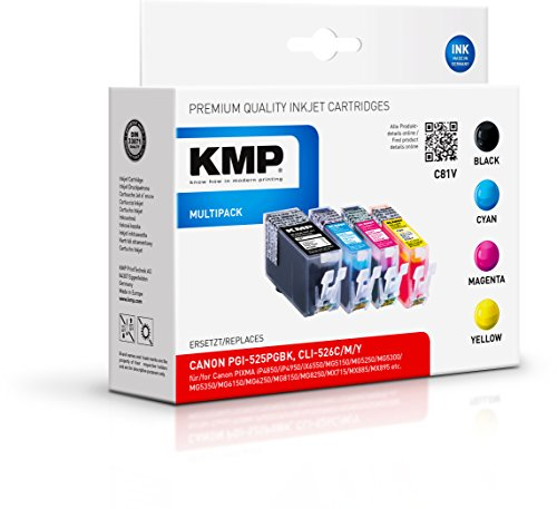 Preisvergleich Produktbild KMP Multipack für Canon PIXMA MG8150 , C81V