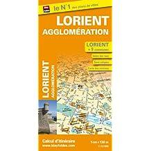 Plan de Lorient et de son agglomération