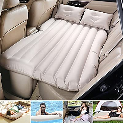 Camping Car Mobile Cushion Air Bed Travel Inflation Mattress Back Seat Extended Couch for SUVs and Sedans and Trucks