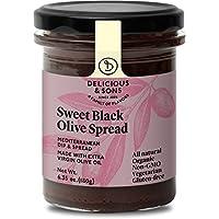 Delicious & Sons Paté Dulce de Aceitunas Negras 180g