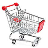 #5: Miniature Shopping Trolley (Red)