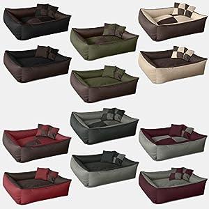 BedDog MAX QUATTRO 2en1 lit pour chien de L à XXXL, 6 couleurs au choix, coussin de chien, lit pour chien, panier pour chien
