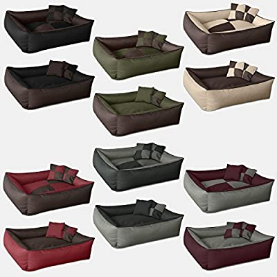 BedDog MAX QUATTRO Bed for a dog L till XXXL , 6 colours to choose, pillow for a dog, sofa for a dog, basket for a dog
