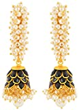 Rajasthani Traditions Pearl Cluster Earr...