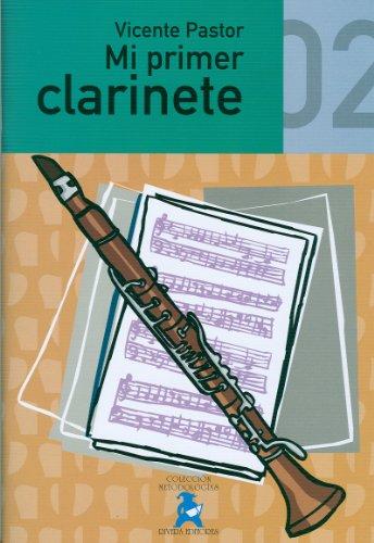 Pastor Garcia V. – Mi Primer Clarinete Vol.2 Grado Elemental Para Clarinete