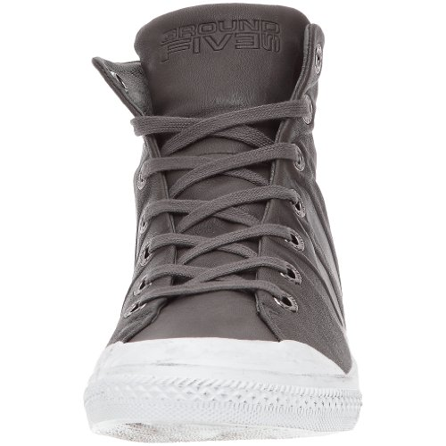 Groundfive Kalash Mid, Herren Sneaker Grau (Anthrazit)