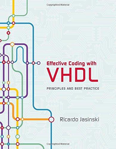 Effective Coding with VHDL: Principles and Best Practice (The MIT Press) por Ricardo Jasinski