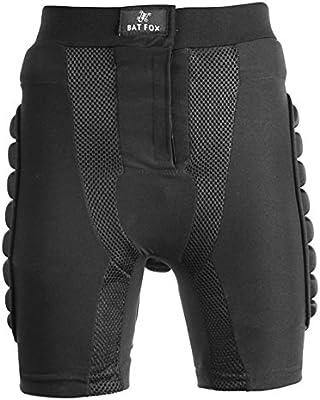 Pantalones Acolchados Cortos de Impacto, Shinmax Hombre Pantalones de Compresión Acolchados de Protección para el fútbol Baloncesto Snowboard Patinaje de Esquí Pantalones Acolchados de Deporte al Aire Libre Protección Contra la Resistencia al Impacto