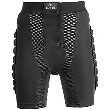 Shinmax Imbottito di Compressione Pantaloncini, Uomo Donna di Protezione Imbottiti Pantaloni di Bicchierini di Compressione (Assorbente Intima Di Protezione)