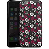Apple iPhone 6 Hülle Schutz Hard Case Cover Blumen Muster Flower