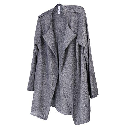 Generic Femmes Casual Manches Longues Thin Medium Manteau De Style Automne Jacket - XXL