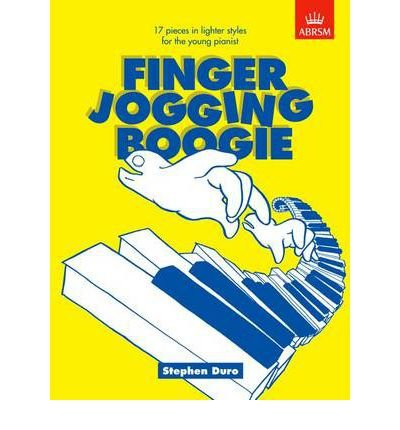 [(Finger Jogging Boogie: 17 Pieces in Lighter Styles for the Young Pianist)] [Author: Stephen Duro] published on (September, 1995)