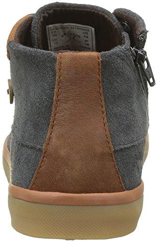 Faguo Unisex-Kinder Wattle Sneaker Grau - Gris (F1650 Slate)