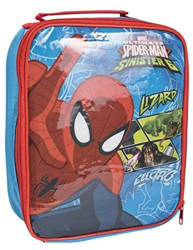Jungen Spiderman isolierte Lunch Tasche Thermo Cool Snack Box Picknick Schule, Synthetisch, spiderman, Einheitsgröße -