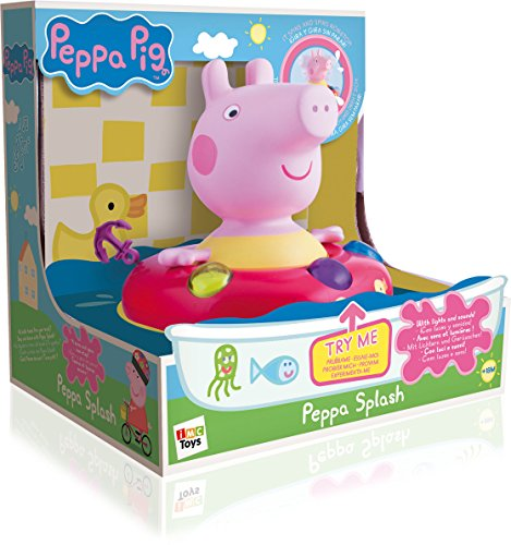 Peppa Pig - Splash, bathroom with lights and sounds (IMC Toys 360167)