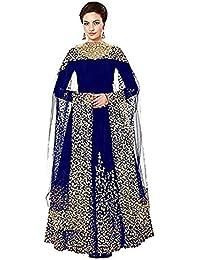 Riyan Enterprise Multi-Color Latest Designer Party Wear, Traditional Anarkali Style Salwar Suit Set With Dupatta...