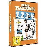 Gregs Tagebuch 1, 2, 3 & 4