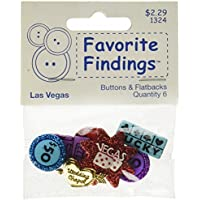 Blumenthal Lansing Favorite Findings Buttons, Las Vegas,