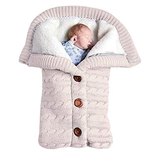 Newborn Baby Swaddle Blanket Str...