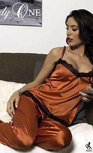 Pantalon Solange Chic Body One ROUILLE