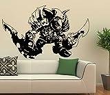 Wandtattoo World of Warcraft Goblin Schurke Größe L